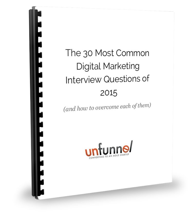 Best  Marketing Interview Questions Ideas On