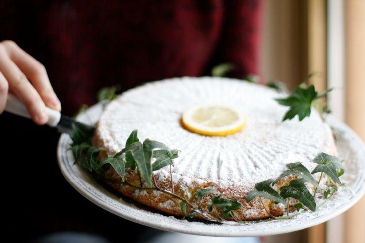 Torta Caprese al limoncello | Anna The Nice