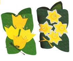 Easter cards/kukkakortit