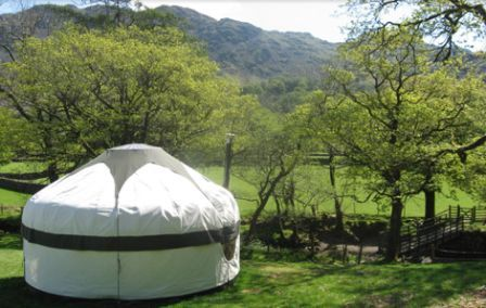 Glamping The Lake District at Inside Out Camping