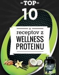 Top 10 receptov z wellness proteinu