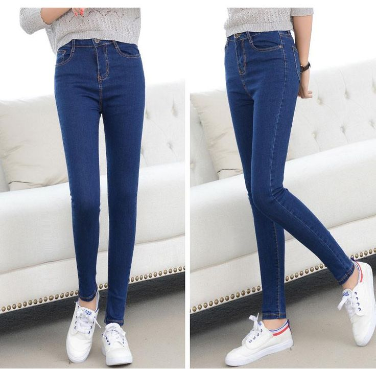 New 2016 Women's jeans Pants Female America Famous design Jeans, High Quality Skinny Stretch Pencil Denim Ladies' Jeans Brand
