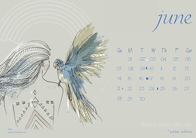 Calendar Wallpaper Quill : Best ideas about calendar june on pinterest