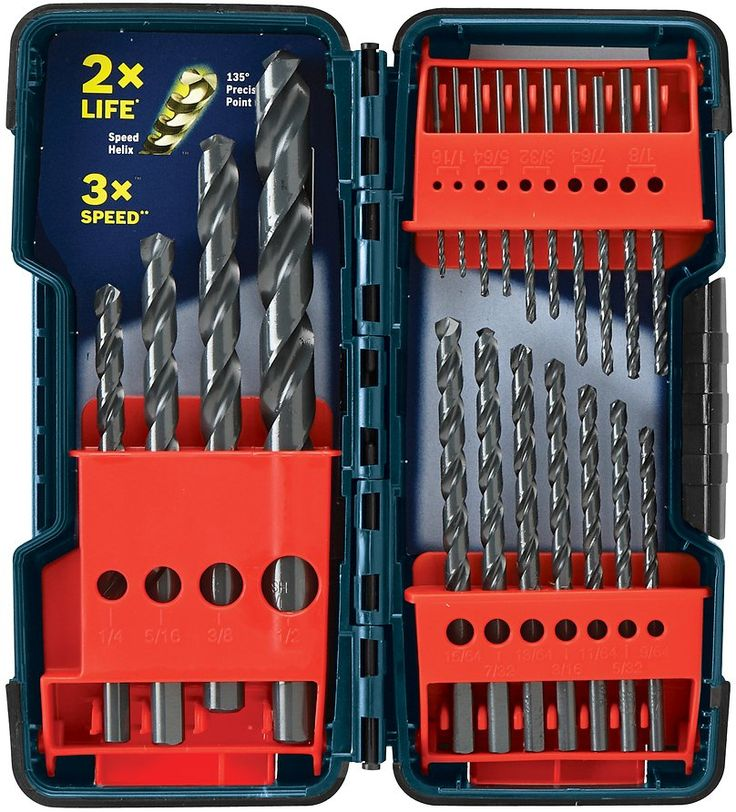 12 best home heavy equipment images on pinterest heavy equipment bosch 21 pack black oxide twist drill bit set extreme ymmv 898 lowes store pu fandeluxe Gallery