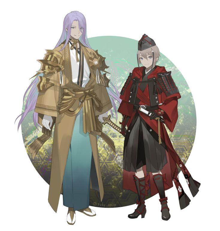 蜂須賀虎徹 / 日向正宗【刀剣乱舞】Hachisuka Kotetsu / Hyuuga Masamune | Touken Ranbu