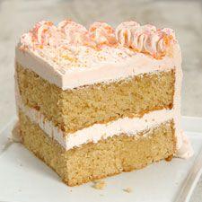 Citrus Surprise Grapefruit Cake Recipe (King Arthur Flour) - made with White Whole Wheat Flour