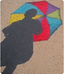 Colour and silhouette inspiration. Title: Shadow. By Fizikal Rex.