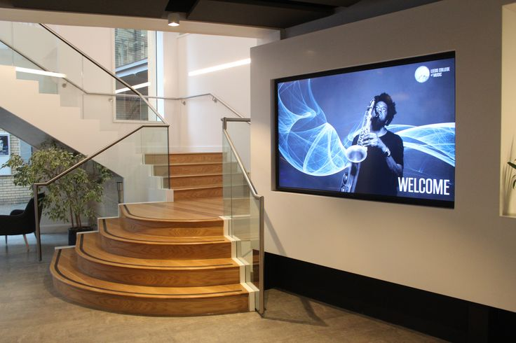 Reception area - Leeds College of Music