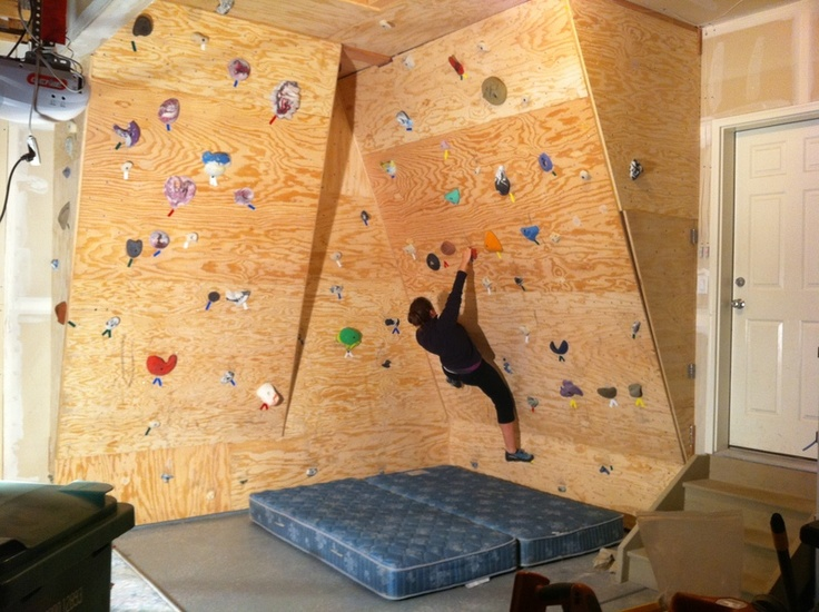 31 best project garage images on Pinterest Rock climbing walls