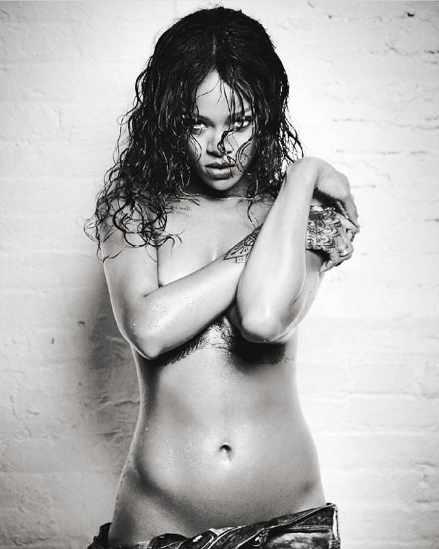 Robyn rihanna fenty naked think, what