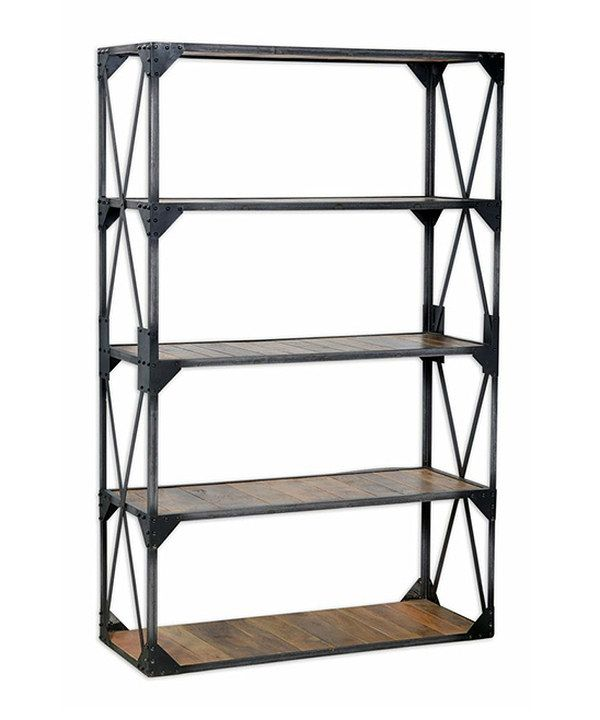 Take a look at this 71'' Industrial Bookshelf on zulily today!