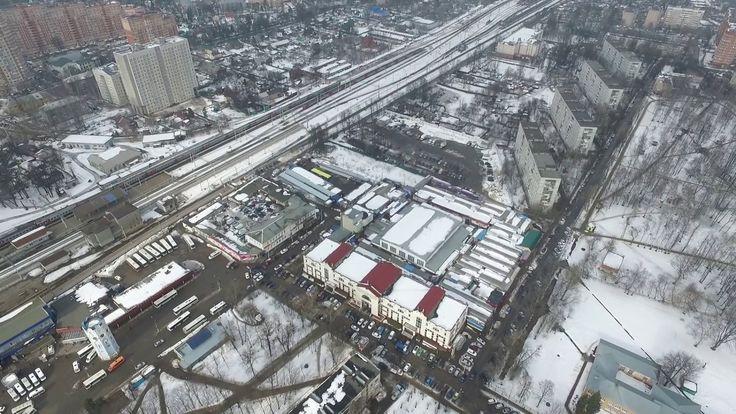 пушкино,станция,зима,март,2016,рынок,автостанция,вокзал,электричка,грязь...