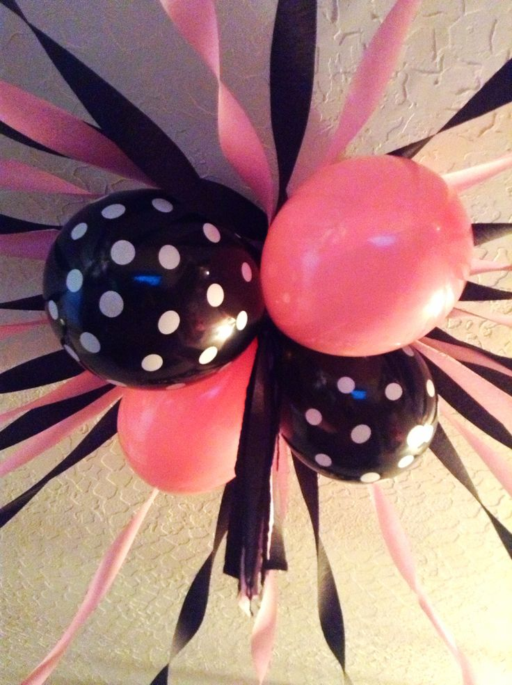 Minnie Mouse party decorations :)