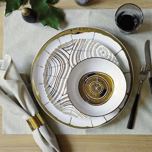 18 Reasons to Fall for Faux Bois & 32 best faux bois images on Pinterest | Dishes Dinnerware and ...
