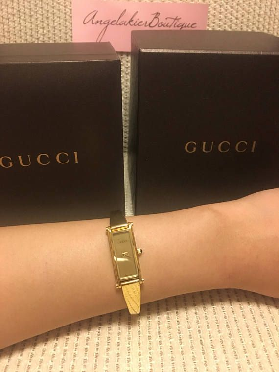 84277e4f966 Authentic Gucci 1500L Swiss Made Stainless Steel Petite Watch ...