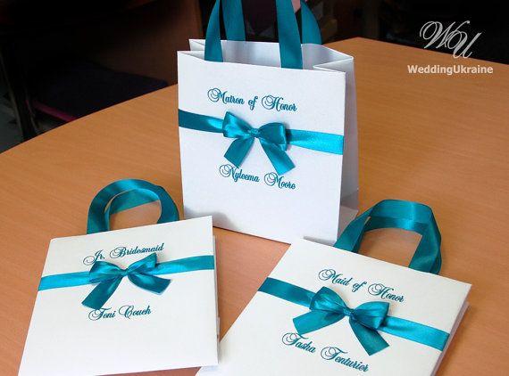 Personalized Gift bags  Bridesmaid's Gift bag  by WeddingUkraine