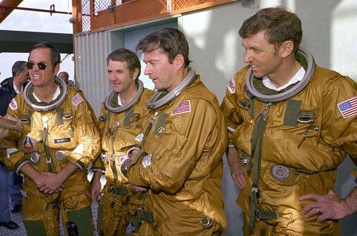 apollo astronauts who flew the space shuttle - photo #9