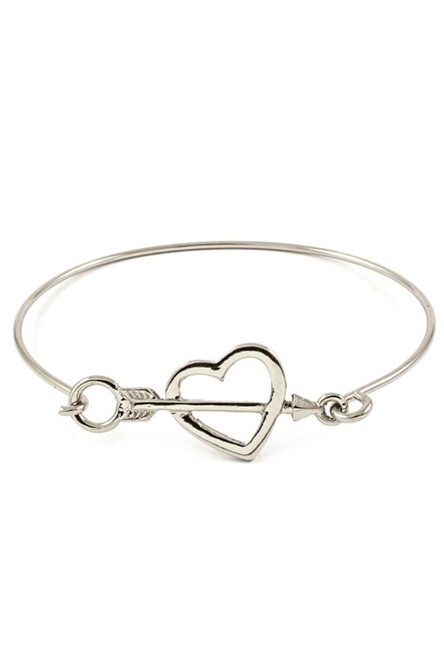 Silver Sweetheart Bracelet | Awesome Selection of Chic Fashion Jewelry | Emma Stine Limited