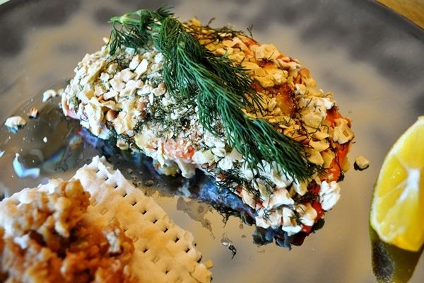 Matzo-Crusted Salmon http://www.sheknows.com/food-and-recipes/articles ...