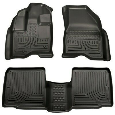 Details About Husky Liners 10 Fits Ford Taurus Front 2nd Floor Liners Black 98701 In 2020 Husky Liners Floor Liners 2014 Ford Explorer
