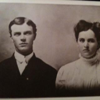 Great grandparents' wedding photo