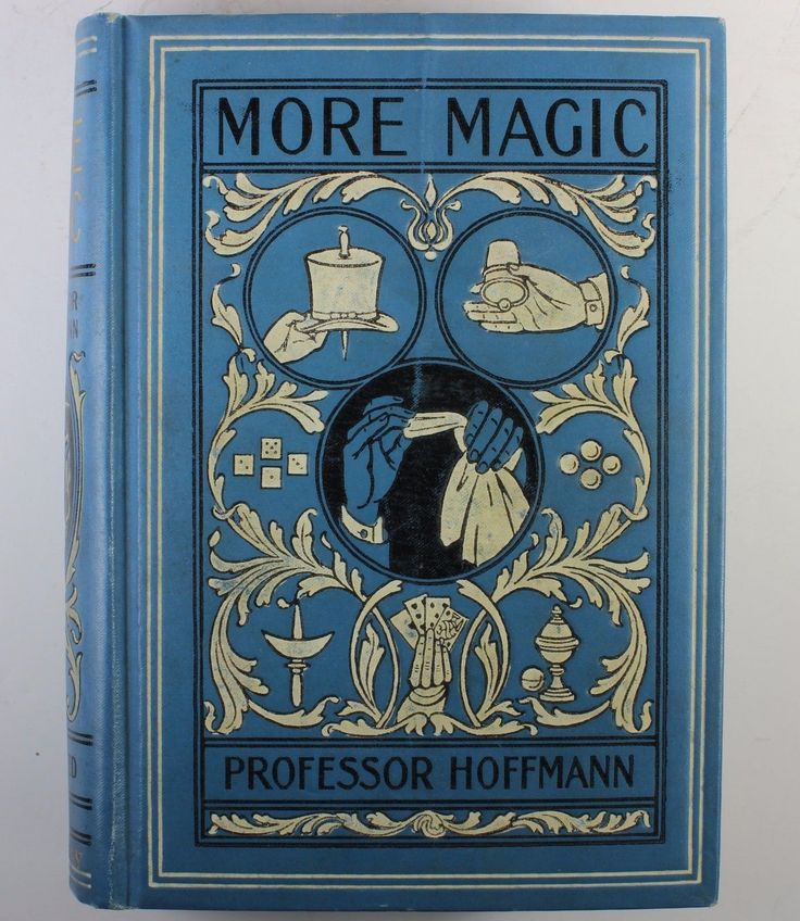 """MORE MAGIC"" BY PROFESSOR HOFFMANN (ANGELO J. LEWIS) PUBL. DAVID MCKAY 
