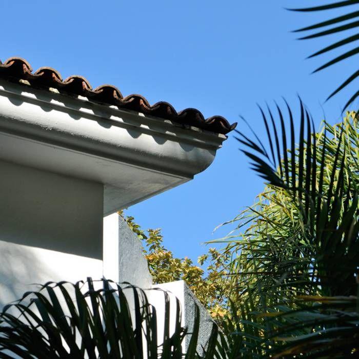 1000 ideas about estilo colonial on pinterest terreno for Techos livianos para casas