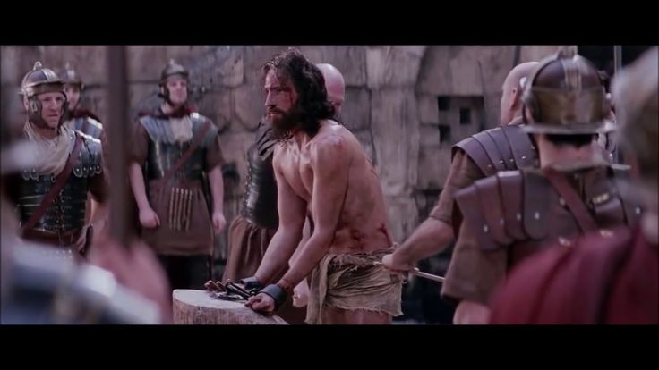 PASSION OF THE CHRIST  MOVIE (WHIPPING SCENE)
