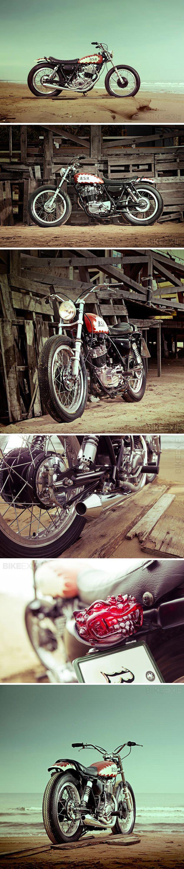 Yamaha SR400 seen on BikeExif : http://www.bikeexif.com/yamaha-sr400-yard-built
