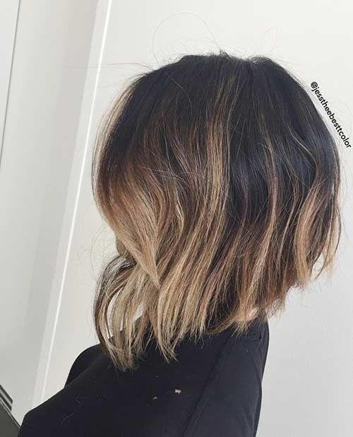 Trendy Balayage Bob Hairstyle
