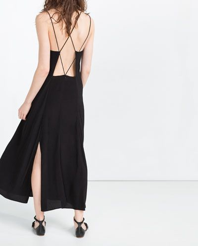 OPEN BACK DRESS-View All-DRESSES-WOMAN   ZARA United States