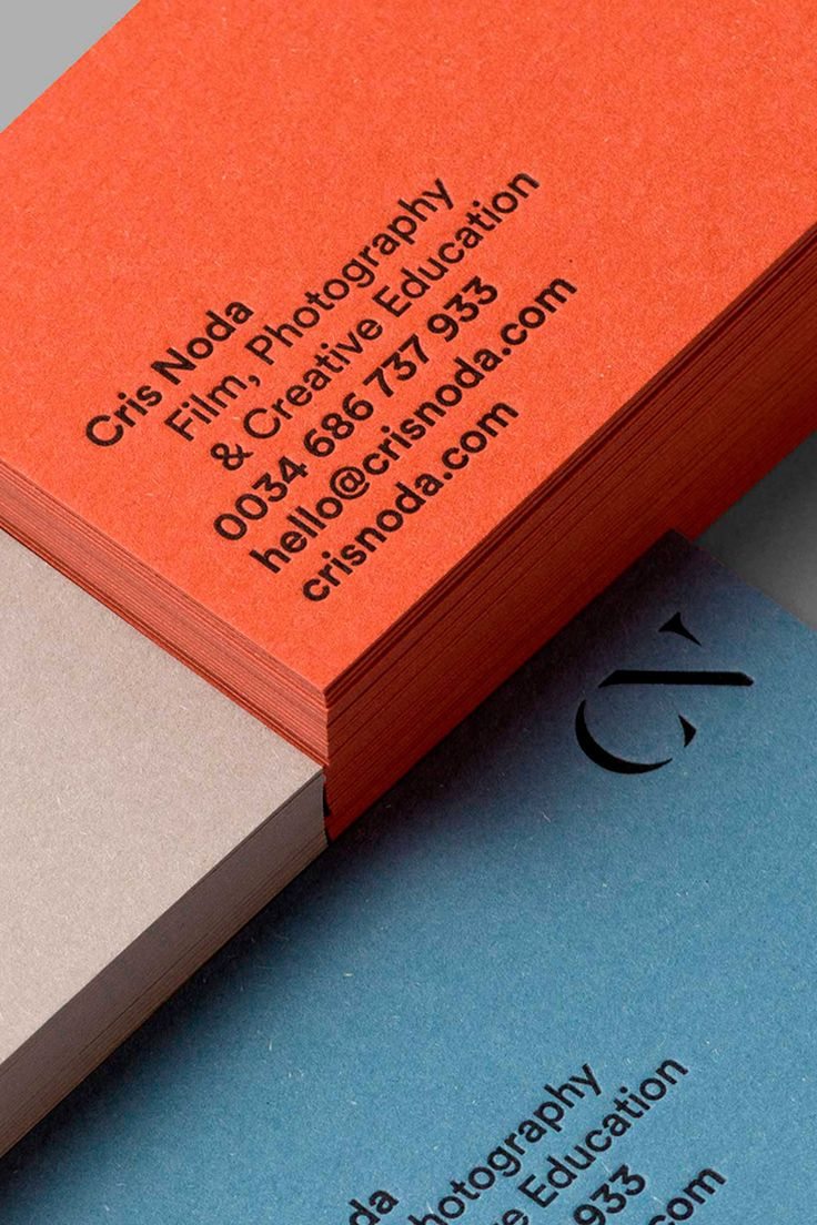 Corporate identity for Cris Noda on Behance