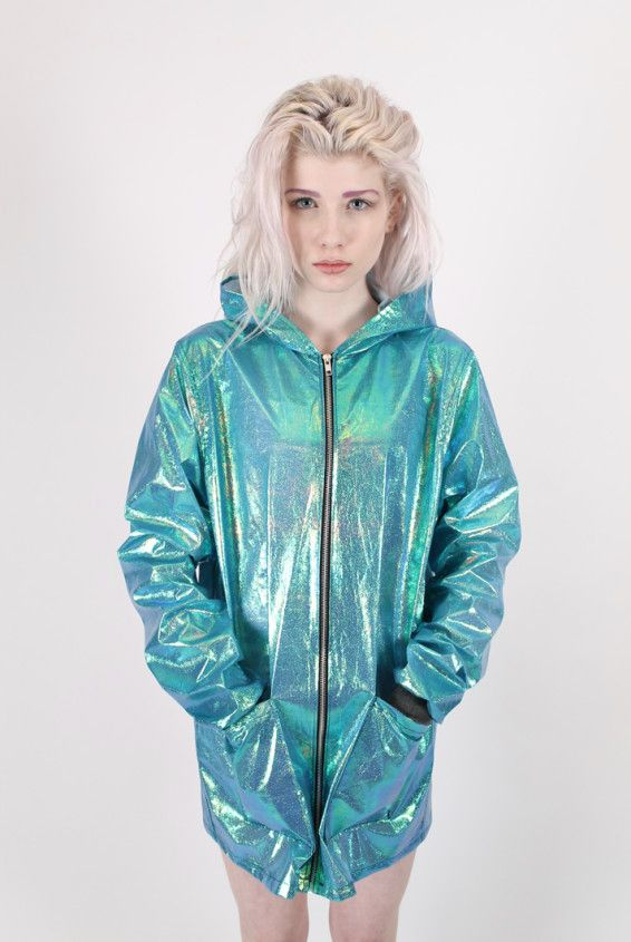 holographic jacket.