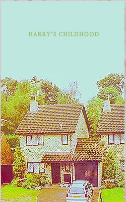 Harry's Childhood: Harry Childhood, Dursley Houses, Boys, Things Harry, Harry Potter Always, Childhood Houses, Potter Childhood, Harry Houses, Harry Potter Houses