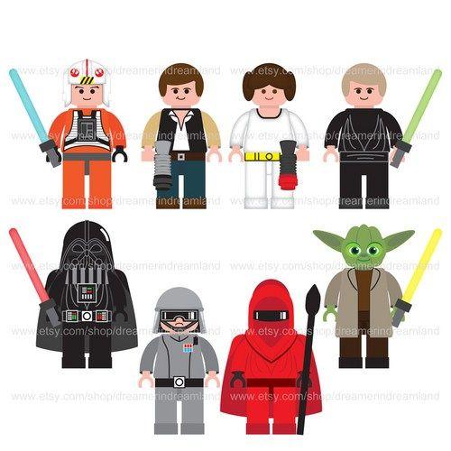 lego star wars clipart - photo #1