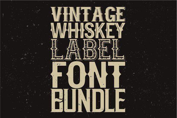 Whiskey fonts BUNDLE! - Display