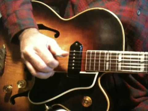 How to play Mystery Train Rockabilly guitar part 2 Scotty Moore - YouTube