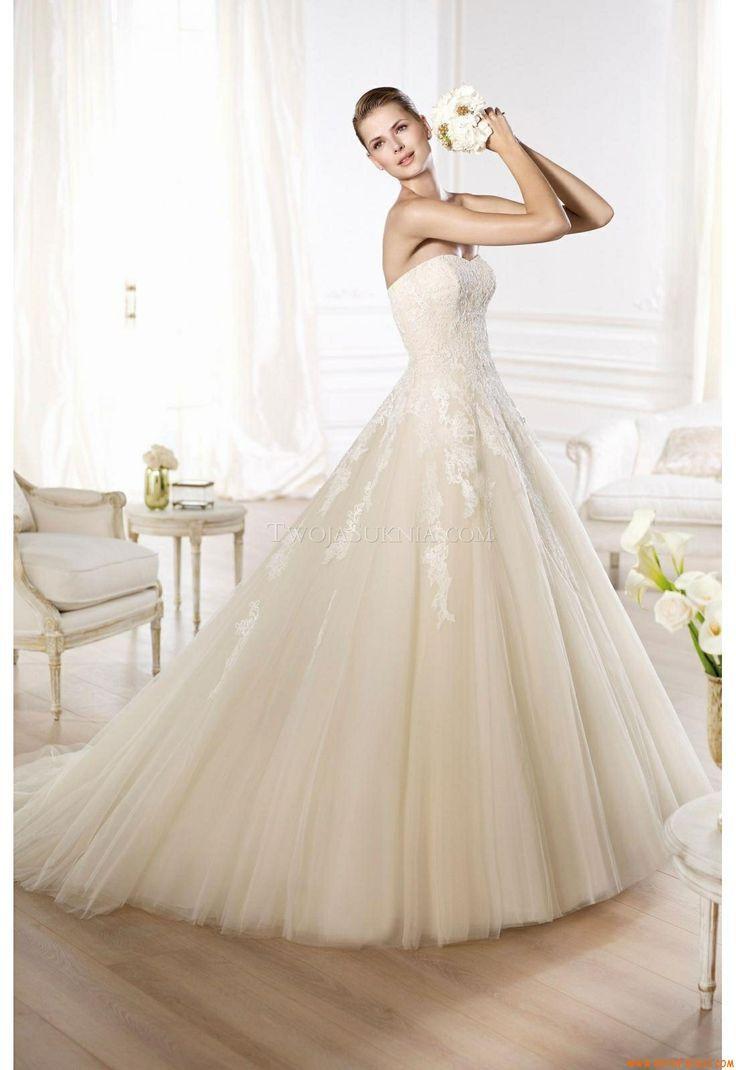 55 best Ball Gown Wedding Dresses images on Pinterest   Wedding ...