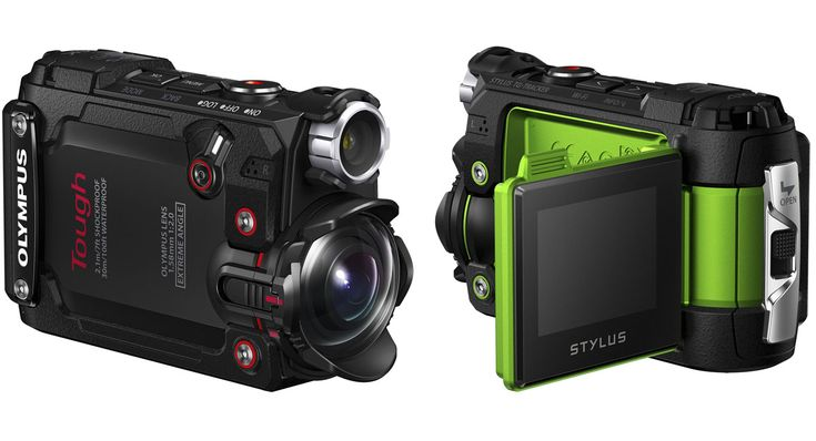 オリンパスがアクションカメラ製品「OLYMPUS STYLUS TG-Tracker」を発表しました。5つのセンサーからなる「フィールドセンサーシステム」を搭載し、対角線画角204度の超広角レンズで幅広いフィールドでの撮影に対応します。