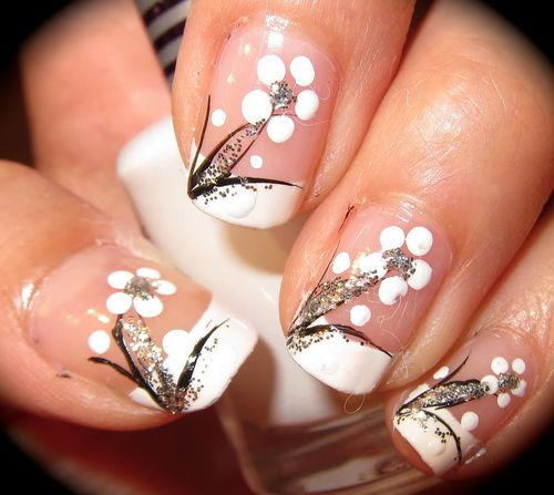 Cool 25 White Nail Art Designs