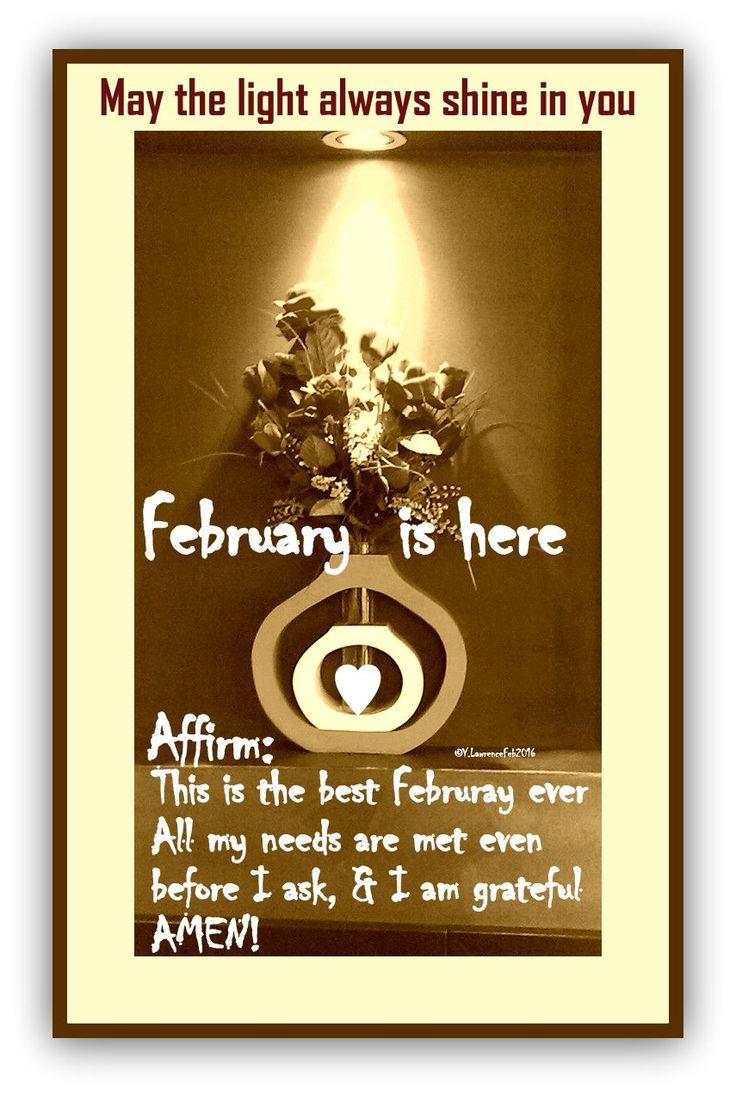 ♥  #February  is here ♥ #WUVIP
