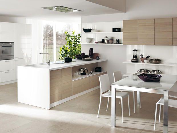 Open   Contemporary   Kitchen   Melbourne   Scavolini Kitchen, Living And  Bathroom