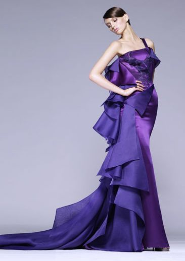 Atelier Versace: Long Dresses, Atelier Versace, Purple Rose, Red Carpets, High Fashion, Versace 2008, Versace Gowns, Oscars Dresses, Ate Versace