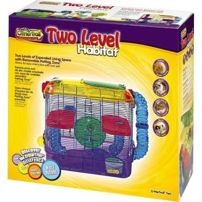 Kaytee CritterTrail Small Animal Habitat, 2-level