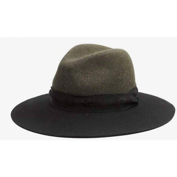 Rag & Bone Wide Brim Fedora ($115) ❤ liked on Polyvore featuring accessories, hats, black multi, fedora hat, wide brim fedora, rag bone hat, rag bone fedora and wide brim hat