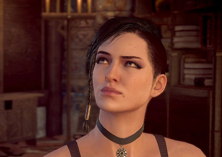 Olgierd gang Girl hair for Yennefer at The Witcher 3 Nexus - Mods and community