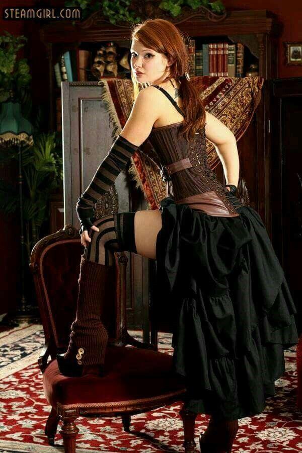 Steamgirl.com #Steampunk #Fashion #Kato #Steamgirl