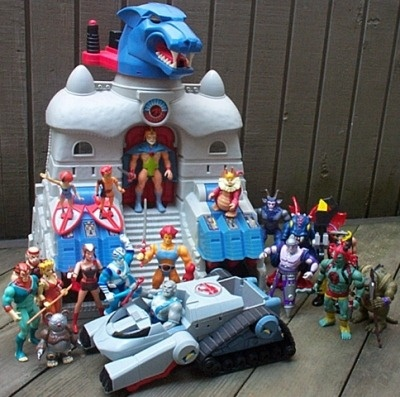 That's a sweet collection of Thundercats toys,  the Wilson boys were into these so we had a few.
