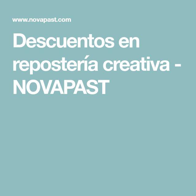Descuentos en repostería creativa - NOVAPAST