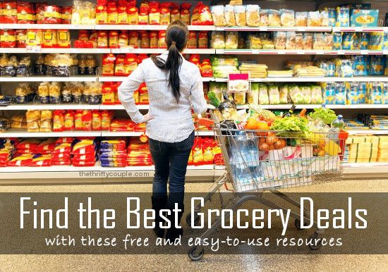 Find the Best Grocery Deals with These Free and Easy-To-Use Resources